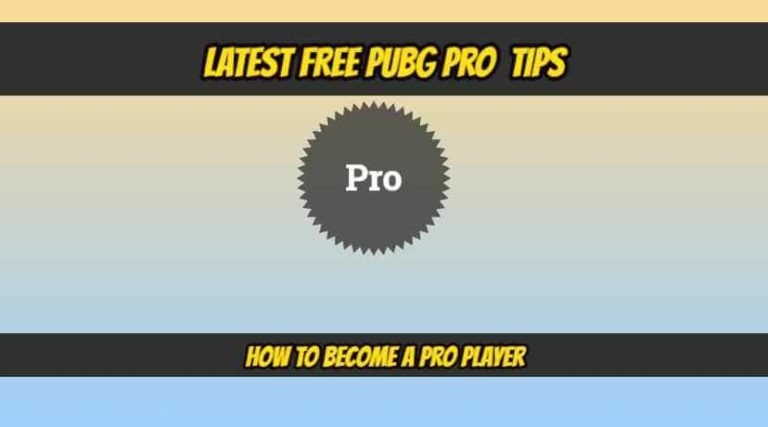20 USEFUL PUBG TIPS TO BECOME A PRO PLAYER (HINDI)