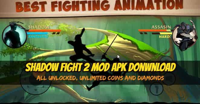 SHADOW FIGHT 2 MOD APK V2.5.5, FREE DOWNLOAD, ALL UNLOCKED (1)