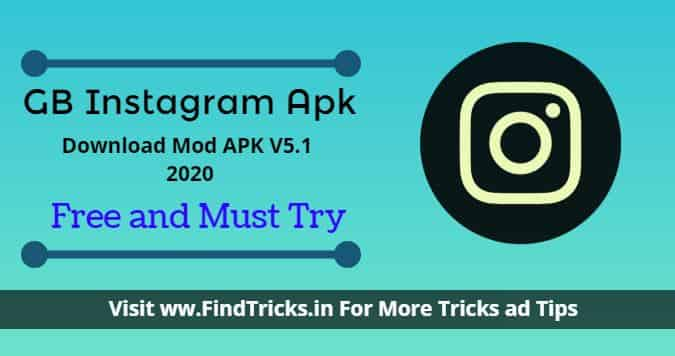 GB Instagram Apk Download Mod V5.1 2020 || Latest Apk || Useful Apk.
