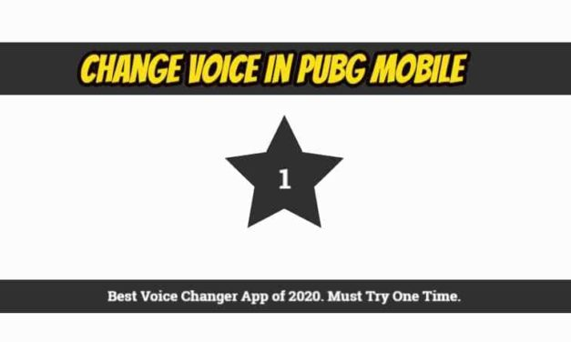 How to Change Voice in PUBG Mobile ? Best Voice Changer App 2020