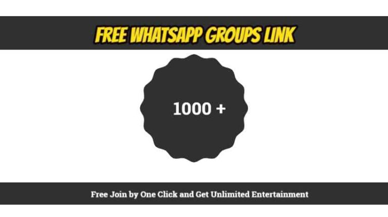 LATEST 10000+ WHATSAPP GROUP LINKS 2020, LATEST LINKS TO JOIN FREE.