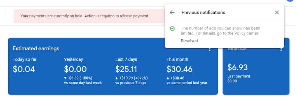 Temporary-Ad-serving-limit-placed-on-your-AdSense-error-4