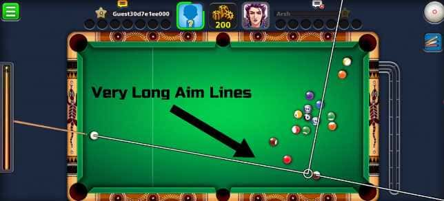 8 Ball Pool Mod APK Very Long Aim Line, Anti Ban Free Download 2020 3