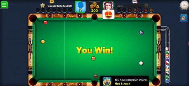 8 Ball Pool Mod APK Very Long Aim Line, Anti Ban Free Download 2020 4