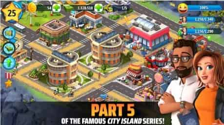 City Island 5 MOD APK, Hack, Unlimited Money,Gold, Gems 2020, It is 100 percent Worked and Offline APK 1