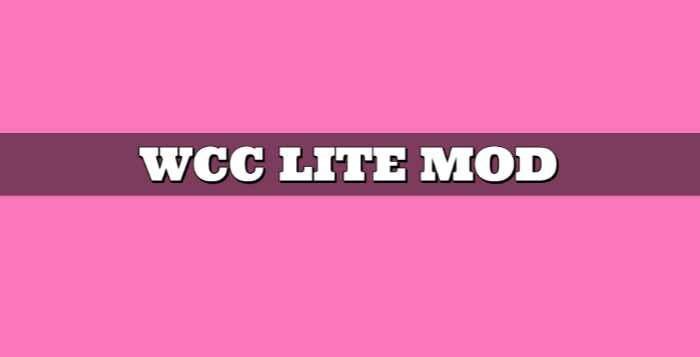 Wcc Lite Mod Apk Free Download, Latest Version