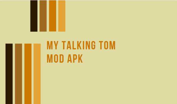 My Talking Tom Mod APK Free Download, Latest Version 2020, Unlimited Money Coins 3